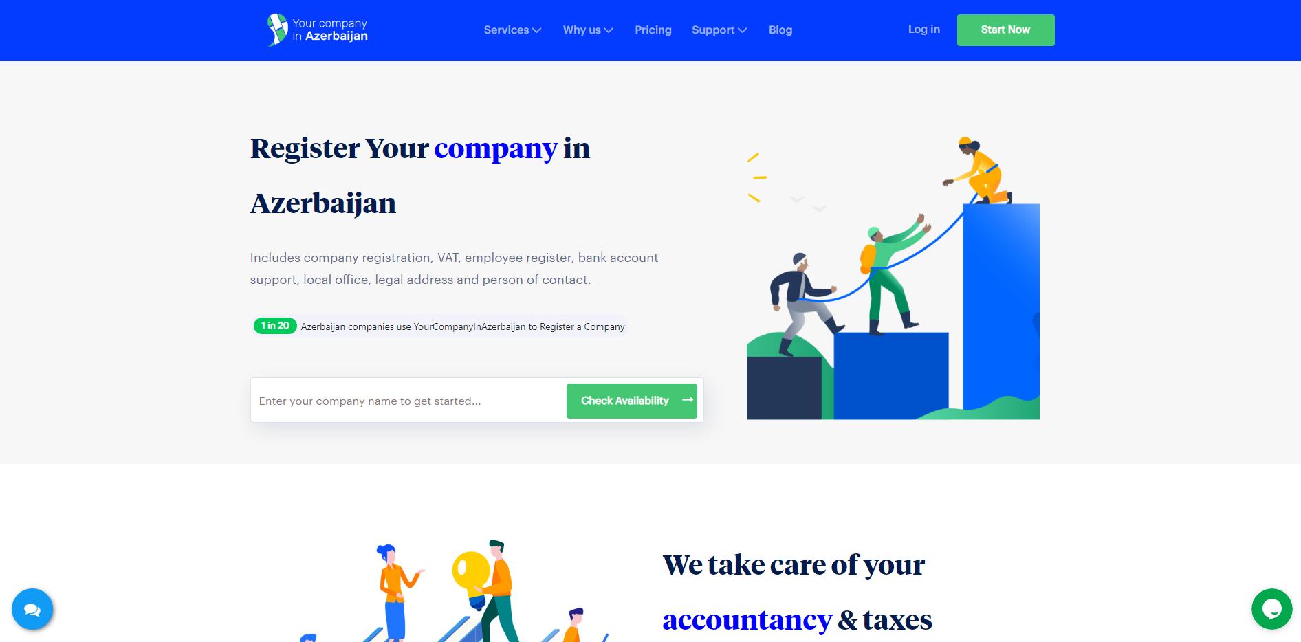 Yourcompanyinazerbaijan.com